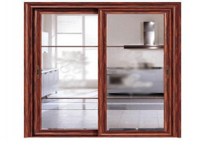 PVC Sliding Doors by Vardhman Timber & Plywood