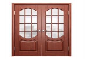 Sagun Teak Wood Double Door by Man Bhavan Furniture
