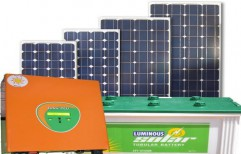 Solar Home UPS by TVM Power Solar System Private Limited