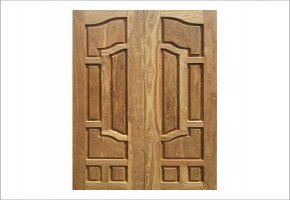 Teak Wood Double Color Door