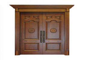 Teak Wood Molding Double Door  by Anil Enterprise