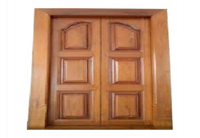 Timex Teak Wood Double Door Design