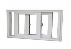 Upvc 2.5/3 Track Sliding Window With Insect Mesh by Healthy Homes