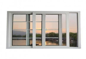 UPVC Sliding Window For Balcony by Allura UPVC Solution