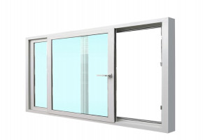 UPVC Window With Glass  by Sharda Construction