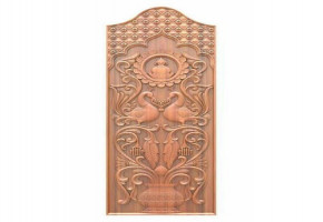 Wooden Engraved Door      by Sri Ram & Company