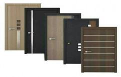 Brown Wooden Plywood Door