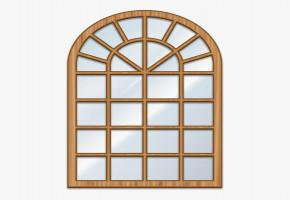 Wooden  Window by Naalvar Constructions