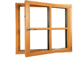 Wooden Windows With Glass  by DA3 Projects & Infrastructure