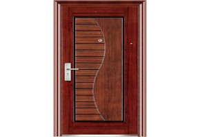 Matte Designer Wooden Doors by Gurukrupa Industries