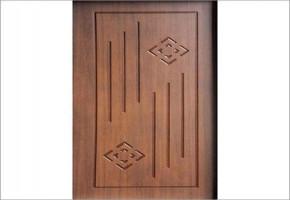 PVC Membrane Doors by Megha Traders
