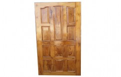 Teak Wooden Door, Size/Dimension: 5-6 Ft