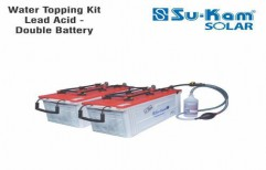 Water Topping Kit Lead Acid - Double Battery by Sukam Power System Limited