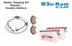 Water Topping Kit Tubular - Double Battery by Sukam Power System Limited
