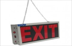 Battery Exit Lights by SPJ Solar Technology Private Limited