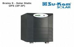 Brainy S - Solar Static UPS 3P-3P 10KVA/180V by Sukam Power System Limited