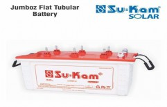 Jumboz Flat Tubular Battery 180 Ah by Sukam Power System Limited