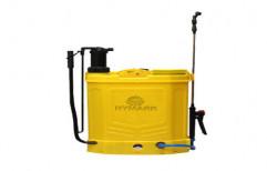 Agri Plastic Battery Powered Knapsack Sprayer, Capacity: 16 liters