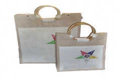 Ladies Jute Shopping Bag by YRS Enterprises