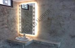 LED Glass Mirror by Rana Aluminium & Pvc