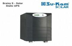 Brainy S Solar - Static UPS 5KVA/96V by Sukam Power System Limited