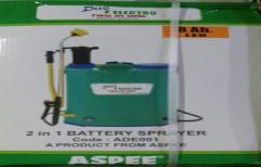 Aspee 2 in 1 Battery Sprayer, Packaging Type: Cardboard Box