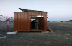 Solar Security Cabin by Qorx Energy