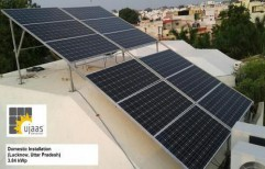 Ujaas On Grid Solar Power Plant 2.64 KWP by New Era Solar