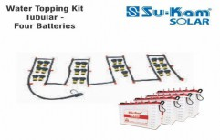 Water Topping Kit Tubular - Four Battery by Sukam Power System Limited