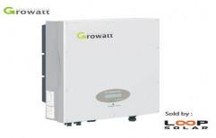 Growatt Solar Grid Tie Inverter by Techdzire Solar Private Limited