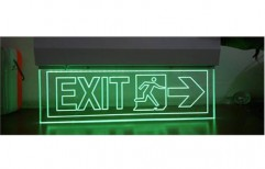 Laser Type Exit Light by SPJ Solar Technology Private Limited