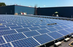 On Grid Solar Power Plant by Neoteric Enterprises India Private Limited