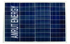Amrut Poly Crystalline 75 W Solar Panel, 12 V by Amrut Energy Private Limited