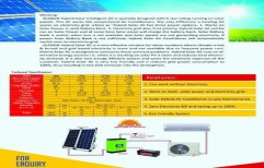 Solar Dc Air Conditioner by ENTECH ASSOCIATE