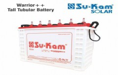 warrior Plus Plus Tall Tubular Battery 150 Ah by Sukam Power System Limited