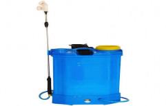 ASPEE Blue Battery Powered Knapsack Sprayer, Model: DR 200