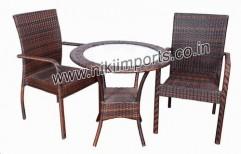 Garden Table (Ebony) by Nikee Traders