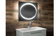 Illuminated Magnifying Glasses Mirror by Rana Aluminium & Pvc