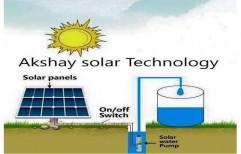 Solar Water Pump by Akshay Solar Technology