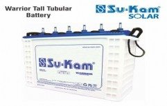Warrior Tall Tubular Battery 180 Ah by Sukam Power System Limited