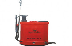 Agricultural Turbo Battery Operated 2 In 1 Sprayer by Agromill Machinery