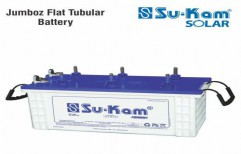 Jumboz Falt Tubular Battery 150 Ah by Sukam Power System Limited