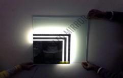 Magnifying Glass Mirror by Rana Aluminium & Pvc