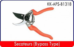 Secateurs (Bypass Type) by Oswal Electrical Store
