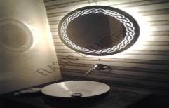 Illuminated Mirror Mirror by Rana Aluminium & Pvc