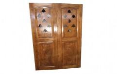 Wood Temple Wooden Doors