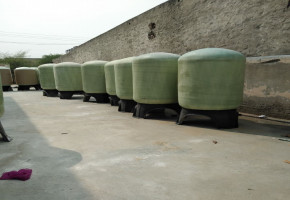 Manufacturer of quality Frp vessels in India(30 inch X 72 inch)