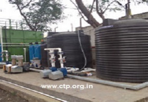 Sewage treatment plant by Chirag Techno Products And Consultants