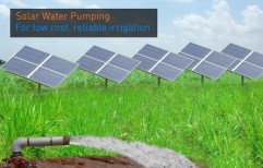 Solar Water Pumping Systems by J K Engineers & Traders