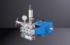 Triplex High Pressure Plunger Pumps by Minimax Pumps Private Limited